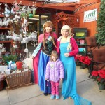 The characters from Frozen stopped by at Daniels Lawn & Garden for the Warm Hugs for Vets Campaign. Lot's of fun for the kids that day....Train Rides, Face Painting and more!