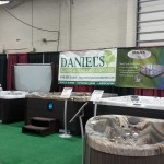 Daniel's Lawn and Garden Showcasing their selection of hot tubs at the 2016 PA Home Show ,Oaks PA