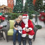 Santa came to visit Daniel's Lawn and Garden for the 2015 Christmas season!